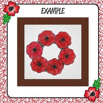 Kindergarten Remembrance Day Wreath - Art Project & More