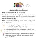 Kindergarten Response to Reading Setting