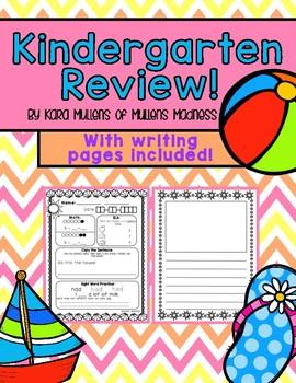 Kindergarten Review!