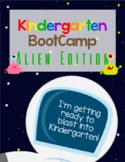 Kindergarten Review - Alien & Space Theme