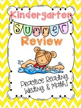 Kindergarten Summer Review - Comprehensive Packet