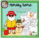 Kindergarten Review Theme - Santa's Vacay