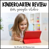 Kindergarten Review for Google Slides | Distance Learning