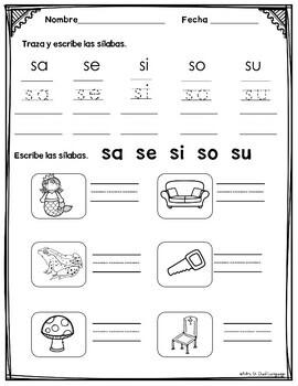Kindergarten Review in Spanish Repaso de Kinder