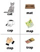 Kindergarten Rhyming Memory Game