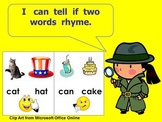 Kindergarten Rhyming PowerPoint