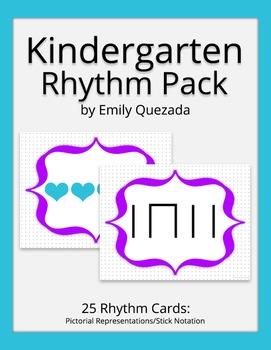 Kindergarten Rhythm Pack