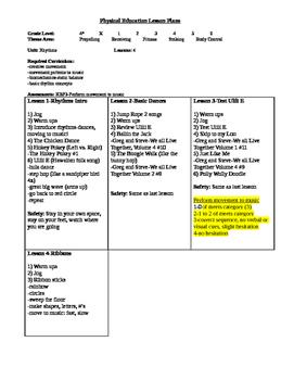 Kindergarten Rhythms Unit
