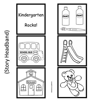 Kindergarten Rocks!:  6 Easy Prep Literacy Centers Beginning of School Year