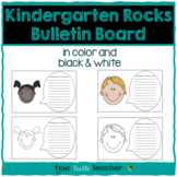 Kindergarten Rocks Because Writing - Perfect for Bulletin Boards!