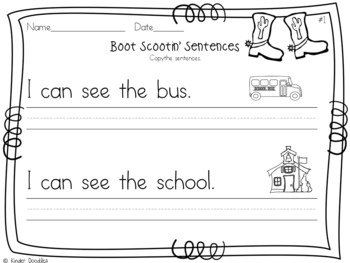 Kindergarten Round-Up Beginner Literacy Skills