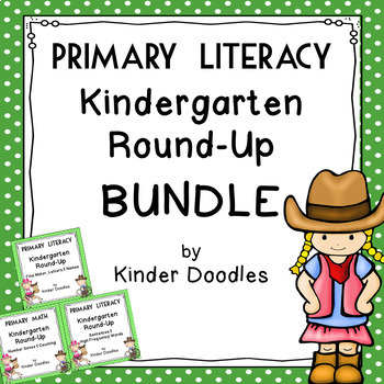 Kindergarten Round-Up Beginning Skills Bundle