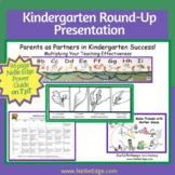 Kindergarten Round-Up Presentation 96-Page Guide