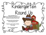 Kindergarten Round Up Unit for Early Elementary