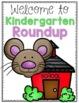Kindergarten Roundup Activities and Assessment