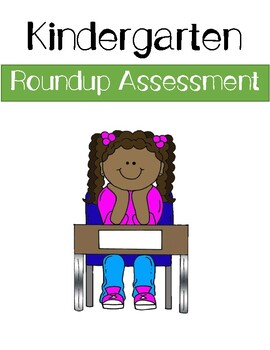 Kindergarten Roundup Assessment Packet