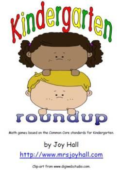 Kindergarten Roundup: Math Games Based on Common Core Standards