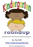 Kindergarten Roundup: Math Games Based on Common Core Standards