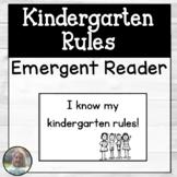 Kindergarten Rules Booklet