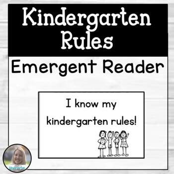 Kindergarten Rules Booklet