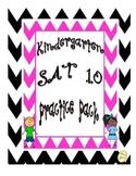 Kindergarten SAT 10 Practice Language Arts
