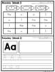 Homework Packet: Kindergarten   September