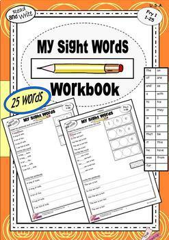 SIGHT WORDS Poems {emergent readers} {sight word centres} BUNDLE