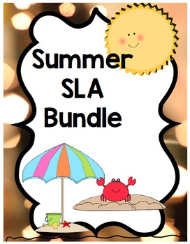 Kindergarten SLA bundle Spanish FREE for a limited time!