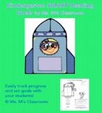 Kindergarten SMART Goal Sheet for Reading