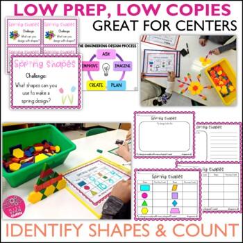 STEM Challenge - Shape Pattern Blocks