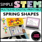 Spring STEM Challenge Shapes