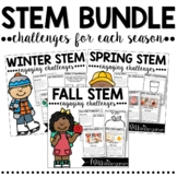 STEM Challenges and Activities   Fall Winter and Spring Bundle