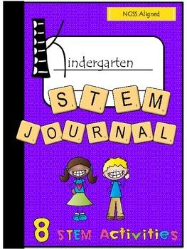 Kindergarten STEM Challenge Journal