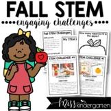 Kindergarten STEM Challenges for Fall