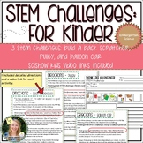 Kindergarten STEM Challenges with SciShow Kids Video Links