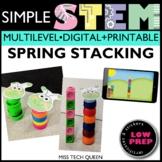 Spring STEM Challenge - Stacking Caterpillar
