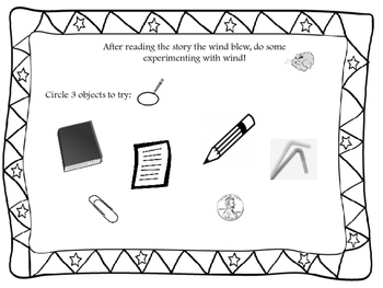 Kindergarten STEM- Wind