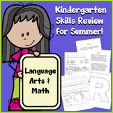 Kindergarten SUMMER Skills Review Packet