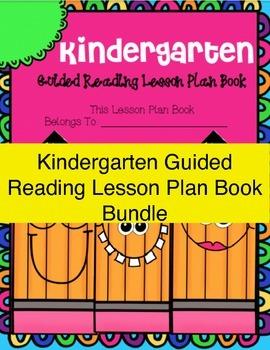 Kindergarten SUPER Bundle! ~ Lesson Plans, Phonics Work, Graphic Aids and More!