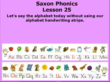 Kindergarten Saxon Flip Charts 21 - 40