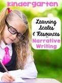 Kindergarten Scales for Narrative Writing