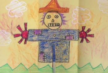 Kindergarten Scarecrow