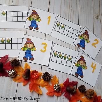 Kindergarten Scarecrow Math