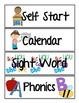 Schedule Cards for Early Childhood