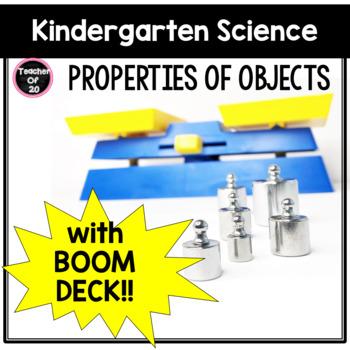 Kindergarten Science Activities Properties of Objects