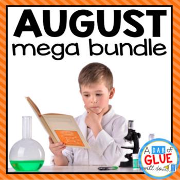 Kindergarten Science Bundle for August