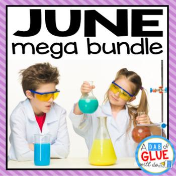 Kindergarten Science Bundle for June