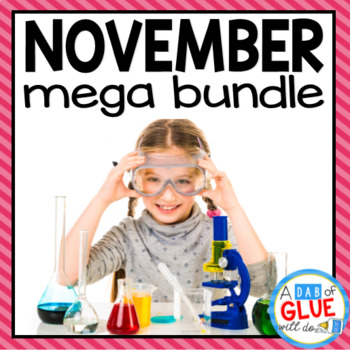 Kindergarten Science Bundle for November
