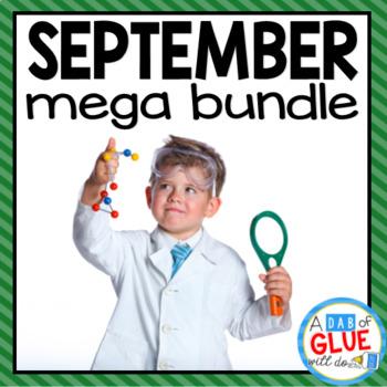 Kindergarten Science Bundle for September