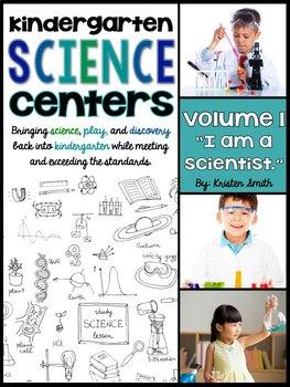 Kindergarten Science Centers - I Am A Scientist.